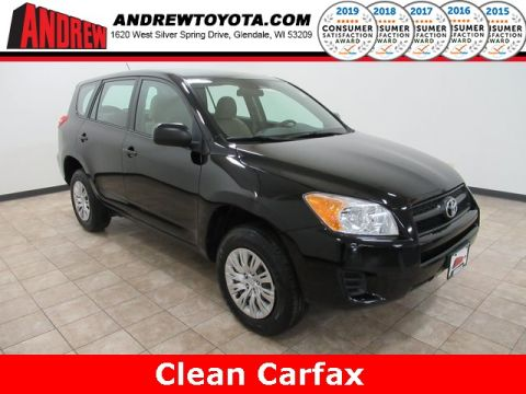 Stock #: 39019A Black 2011 Toyota RAV4 Base 4D Sport Utility in Milwaukee, Wisconsin 53209
