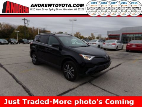 Stock #: 38852A Black 2017 Toyota RAV4 LE 4D Sport Utility in Milwaukee, Wisconsin 53209