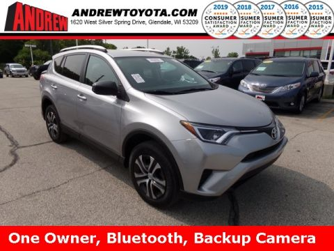 Stock #: TP9941 Silver 2016 Toyota RAV4 LE 4D Sport Utility in Milwaukee, Wisconsin 53209