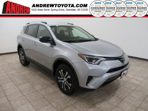 Stock #: TP1340 Silver 2017 Toyota RAV4 LE 4D Sport Utility in Milwaukee, Wisconsin 53209