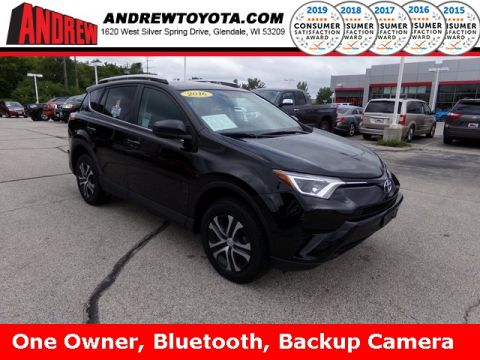 Stock #: 38202A Black 2016 Toyota RAV4 LE 4D Sport Utility in Milwaukee, Wisconsin 53209