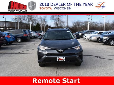 Stock #: 37243 Gray 2018 Toyota RAV4 LE 4D Sport Utility in Milwaukee, Wisconsin 53209