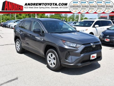 Stock #: 38099 Gray 2019 Toyota RAV4 LE 4D Sport Utility in Milwaukee, Wisconsin 53209