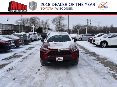 Stock #: 37505 Red 2019 Toyota RAV4 LE 4D Sport Utility in Milwaukee, Wisconsin 53209
