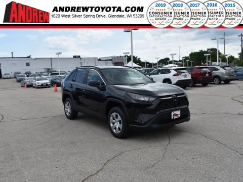 Stock #: 38359 Black 2019 Toyota RAV4 LE 4D Sport Utility in Milwaukee, Wisconsin 53209