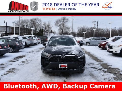 Stock #: 37507 Black 2019 Toyota RAV4 LE 4D Sport Utility in Milwaukee, Wisconsin 53209