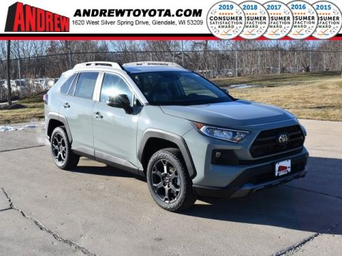 Stock #: 39078 Lunar Rock / Ice Edge roof [extra_cost_color] 2020 Toyota RAV4 TRD Off Road 4D Sport Utility in Milwaukee, Wisconsin 53209