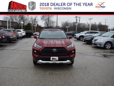 Stock #: 37431 Red 2019 Toyota RAV4 Adventure 4D Sport Utility in Milwaukee, Wisconsin 53209