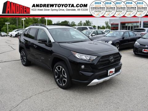 Stock #: 37624 Black 2019 Toyota RAV4 Adventure 4D Sport Utility in Milwaukee, Wisconsin 53209