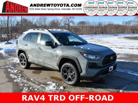 Stock #: 38902 Lunar Rock / Ice Edge roof [extra_cost_color] 2020 Toyota RAV4 TRD Off Road 4D Sport Utility in Milwaukee, Wisconsin 53209