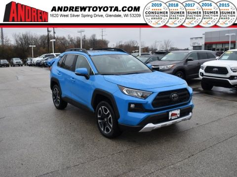 Stock #: 38854 Blue 2020 Toyota RAV4 Adventure 4D Sport Utility in Milwaukee, Wisconsin 53209