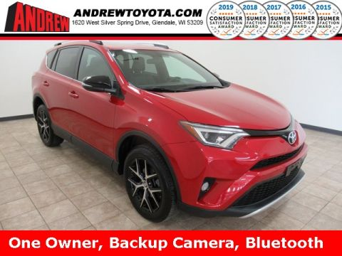 Stock #: 37704A Red 2016 Toyota RAV4 SE 4D Sport Utility in Milwaukee, Wisconsin 53209