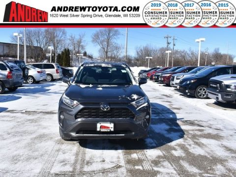 Stock #: 37574 Gray 2019 Toyota RAV4 XLE 4D Sport Utility in Milwaukee, Wisconsin 53209