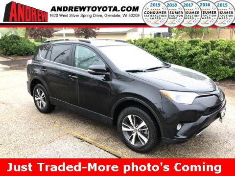 Stock #: 37953A Black 2017 Toyota RAV4 XLE 4D Sport Utility in Milwaukee, Wisconsin 53209