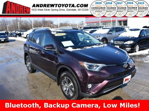 Stock #: 39044A Black 2017 Toyota RAV4 XLE 4D Sport Utility in Milwaukee, Wisconsin 53209