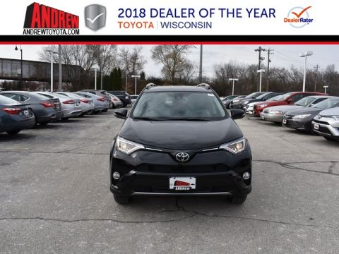 Stock #: 37224 Black 2018 Toyota RAV4 XLE 4D Sport Utility in Milwaukee, Wisconsin 53209