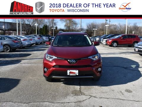 Stock #: 37215 Red 2018 Toyota RAV4 XLE 4D Sport Utility in Milwaukee, Wisconsin 53209