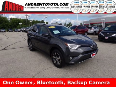 Stock #: TP9938A Gray 2017 Toyota RAV4 XLE 4D Sport Utility in Milwaukee, Wisconsin 53209