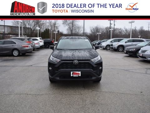 Stock #: 37420 Black 2019 Toyota RAV4 XLE 4D Sport Utility in Milwaukee, Wisconsin 53209