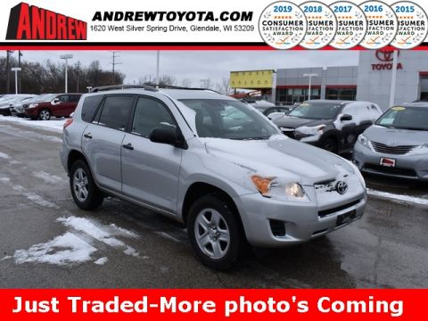 Stock #: TC1253A Silver 2012 Toyota RAV4 Base 4D Sport Utility in Milwaukee, Wisconsin 53209