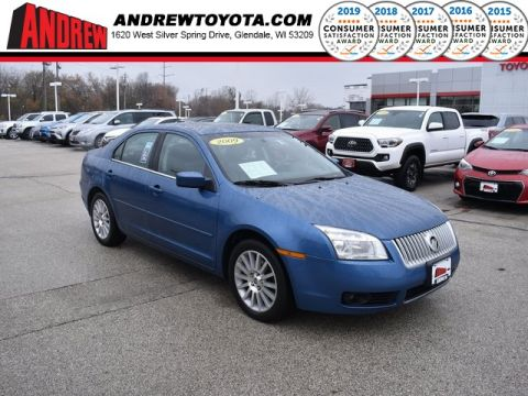 Stock #: 38204A Blue 2009 Mercury Milan Premier 4D Sedan in Milwaukee, Wisconsin 53209