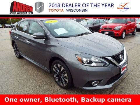 Stock #: TP9446 Gray 2017 Nissan Sentra SR 4D Sedan in Milwaukee, Wisconsin 53209