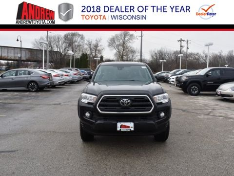 Stock #: 37323 Black 2019 Toyota Tacoma SR5 4D Double Cab in Milwaukee, Wisconsin 53209