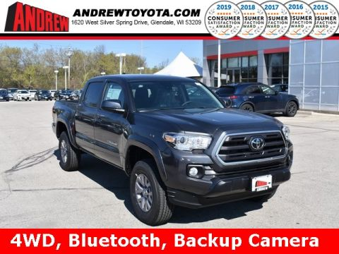 Stock #: 37862 Gray 2019 Toyota Tacoma SR5 4D Double Cab in Milwaukee, Wisconsin 53209