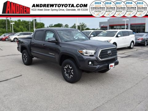 Stock #: 37991 Gray 2019 Toyota Tacoma TRD Offroad 4D Double Cab in Milwaukee, Wisconsin 53209