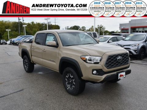 Stock #: 38713 Quicksand 2020 Toyota Tacoma TRD Offroad 4D Double Cab in Milwaukee, Wisconsin 53209