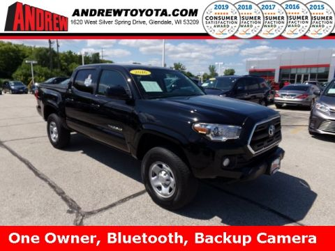 Stock #: TP9923 Black 2016 Toyota Tacoma SR5 4D Double Cab in Milwaukee, Wisconsin 53209