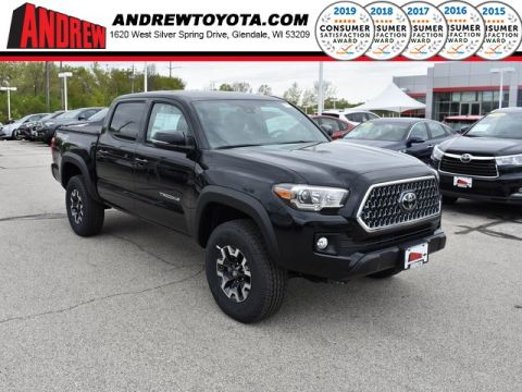 Stock #: 37891 Black 2019 Toyota Tacoma TRD Offroad 4D Double Cab in Milwaukee, Wisconsin 53209