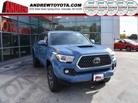 Stock #: 37045 Blue 2019 Toyota Tacoma TRD Sport 4D Double Cab in Milwaukee, Wisconsin 53209