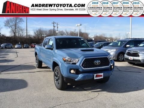 Stock #: 37237 Blue 2019 Toyota Tacoma TRD Sport 4D Double Cab in Milwaukee, Wisconsin 53209
