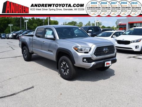 Stock #: 38137 Silver 2019 Toyota Tacoma TRD Offroad 4D Double Cab in Milwaukee, Wisconsin 53209