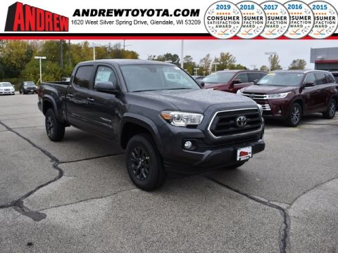 Stock #: 38756 Gray 2020 Toyota Tacoma SR5 4D Double Cab in Milwaukee, Wisconsin 53209