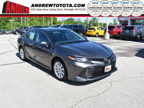 Stock #: 37944 Gray 2019 Toyota Camry LE 4D Sedan in Milwaukee, Wisconsin 53209