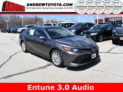 Stock #: 37913 Gray 2019 Toyota Camry LE 4D Sedan in Milwaukee, Wisconsin 53209