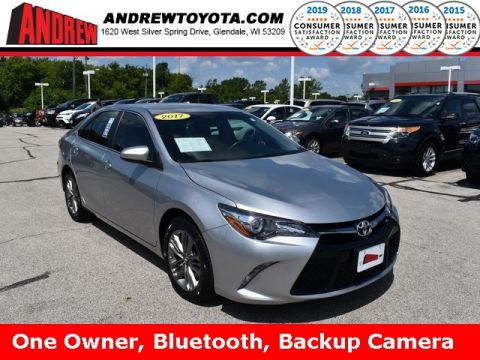 Stock #: 37847A Silver 2017 Toyota Camry SE 4D Sedan in Milwaukee, Wisconsin 53209