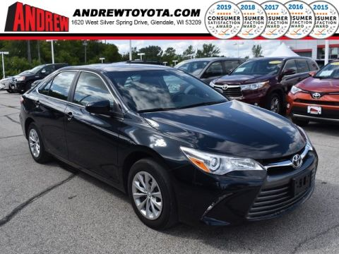 Stock #: TP10039 Gray 2016 Toyota Camry LE 4D Sedan in Milwaukee, Wisconsin 53209