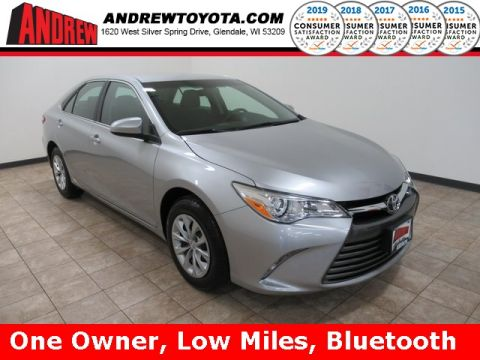 Stock #: 38803A Silver 2017 Toyota Camry LE 4D Sedan in Milwaukee, Wisconsin 53209
