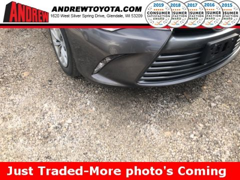 Stock #: TP1169 Gray 2017 Toyota Camry LE 4D Sedan in Milwaukee, Wisconsin 53209
