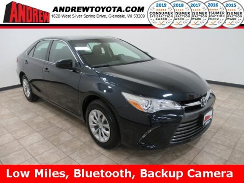 Stock #: TP1263 Gray 2017 Toyota Camry LE 4D Sedan in Milwaukee, Wisconsin 53209