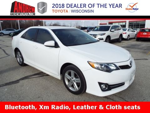 Stock #: 37295A White 2013 Toyota Camry SE 4D Sedan in Milwaukee, Wisconsin 53209