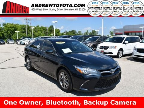 Stock #: TP9900 Gray 2016 Toyota Camry SE 4D Sedan in Milwaukee, Wisconsin 53209