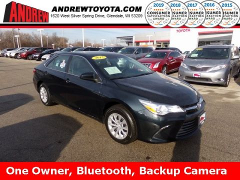 Stock #: TP1199 Blue 2017 Toyota Camry LE 4D Sedan in Milwaukee, Wisconsin 53209