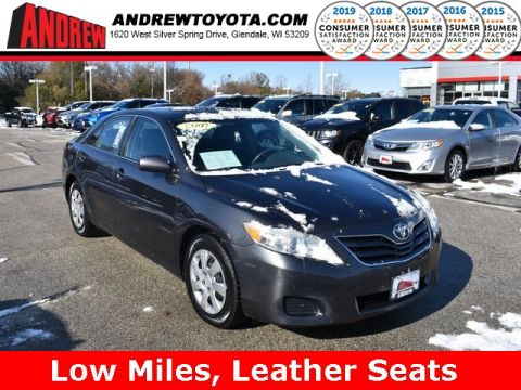 Stock #: 38328B Gray 2010 Toyota Camry LE 4D Sedan in Milwaukee, Wisconsin 53209