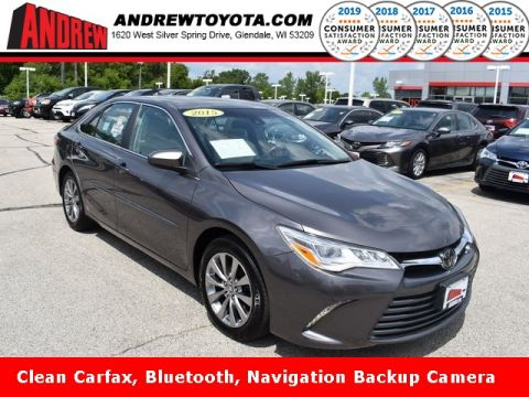Stock #: 37055AB Gray 2015 Toyota Camry XLE 4D Sedan in Milwaukee, Wisconsin 53209