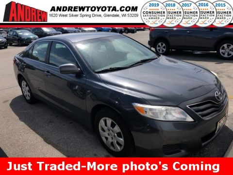 Stock #: 38584A Gray 2010 Toyota Camry LE 4D Sedan in Milwaukee, Wisconsin 53209