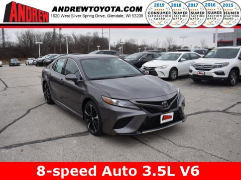 Stock #: 37503 Gray 2019 Toyota Camry XSE V6 4D Sedan in Milwaukee, Wisconsin 53209